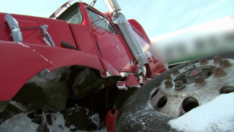 Суровые водилы. зимники Канады. Серия-2
