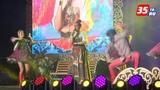 Певица Марина Девятова поздравила несколько тысяч ветеранов-металлургов