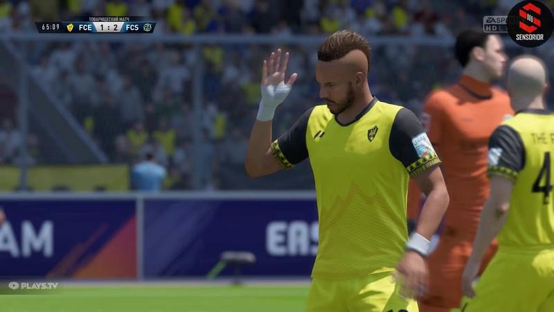 18 сезон FC ELEMENT 1:3 FC Sensorior