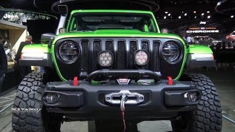 2018 Jeep Wrangler Rubicon Mopar Modified - Exterior And Interior Walkaround