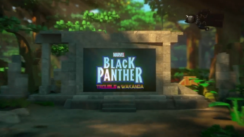Lego Black Panther субтитры