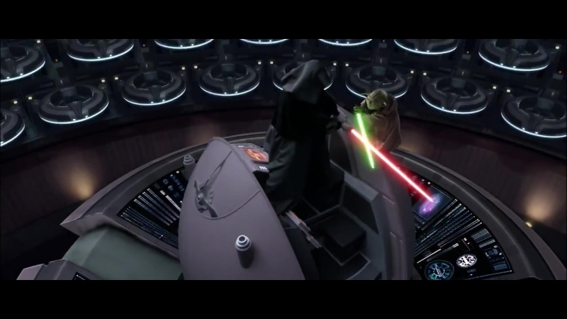 Битвы Star Wars_ Йода против Дарта Сидиуса