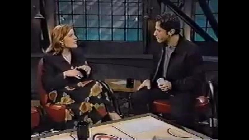 Gillian Anderson on John Stewart Show 1995