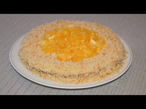 Постный тортик без яиц и сливочного масла.Проще простого.