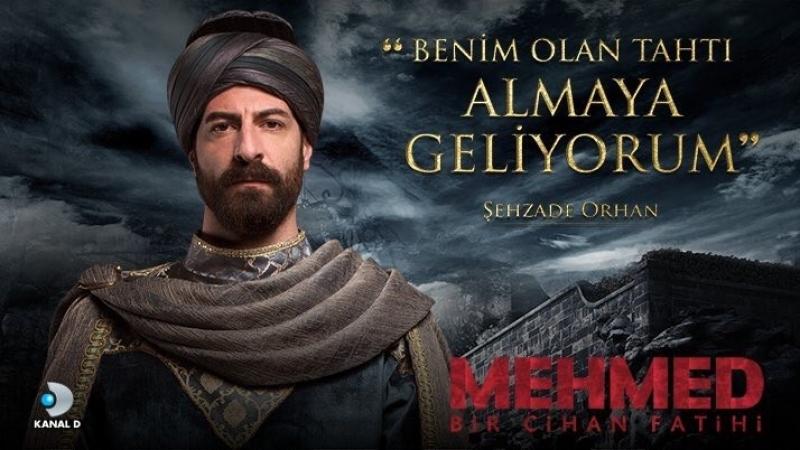 Шехзаде Орхан из сериала Мехмед завоеватель