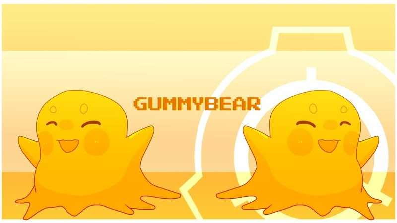 [ Original animation ] Gummy Bear ( Feat : scp-999 )