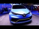 Renault Zoé e-Sport Concept : 460 ch et 0 à 100 en 3,2 s - Salon de Genève 2017