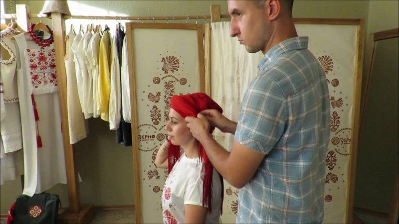 ВИВ'ЯЗУВАННЯ ХУСТКИ: Південна Київщина