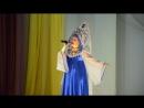 Юля Макиенко Девочка Россия на отчетном концерте народного театра танца Ритм