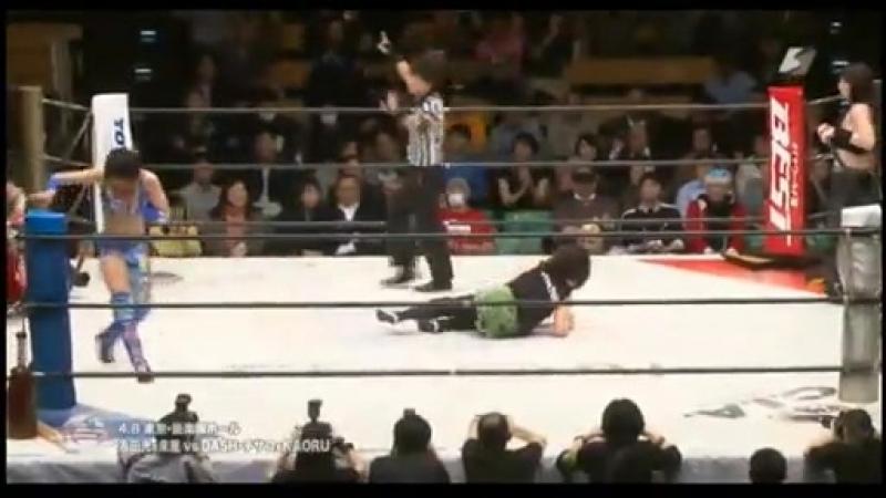 5 DASH Chisako KAORU vs Hikaru Shida Syuri 4 8 16