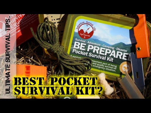 NEW! Best Glide Pocket Survival Kit / Tin DIY Upgrades - REVIEW - Altoids / Altoid Tin