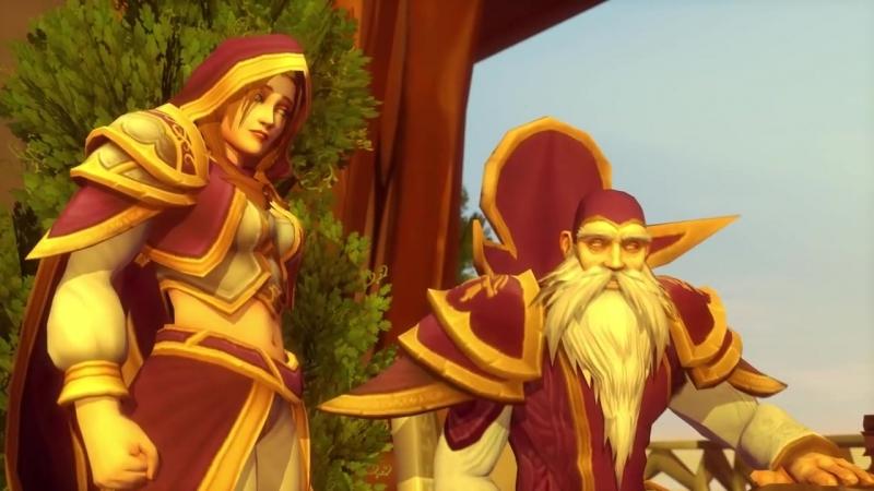 Сюжет Warcraft 3 МАШИНИМА Эпизод 7