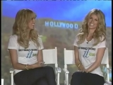 Heidi Klum and Marisa Miller on Sidewalks TV (2007)