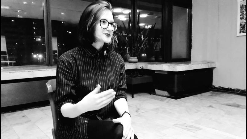Театр Открытое пространство Интервью Екатерины Баньковской, актриса театра.