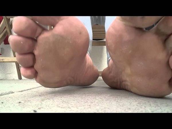 Meine Füße 18, Male feet