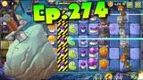 Plants vs. Zombies 2 Unlocked Arthur's Challenge - Dark Ages Night 12 (Ep.274)