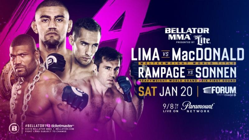 Официальный промо-ролик к турниру Bellator 192: Lima vs. MacDonald (русская озвучка)