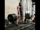 Ник Рейми тянет 370 кг без экипировки