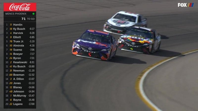 NASCAR Monster Energy Cup 2018. Этап 4 - Финикс