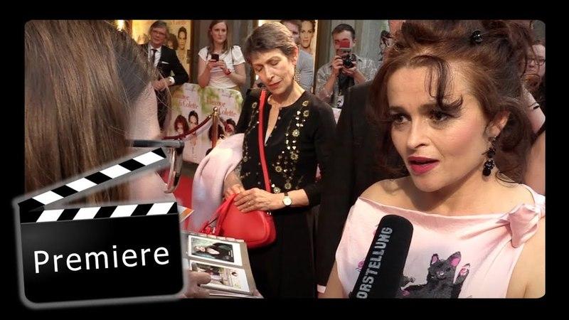 Premiere von Eleanor Colette mit Helena Bonham Carter und Bille August