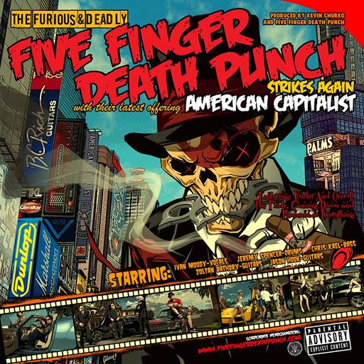 Five Finger Death Punch альбом American Capitalist (Standard)