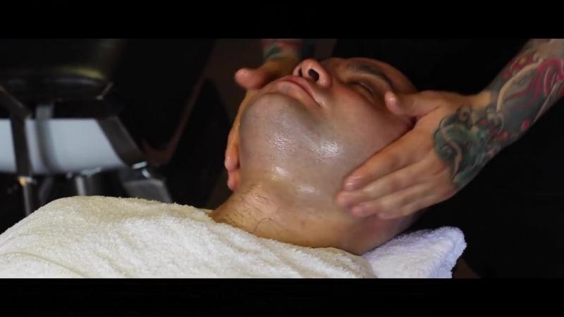 Как правильно брить опасной бритвой_СПА-процедура для мужчин_Санкт-Петербургская
