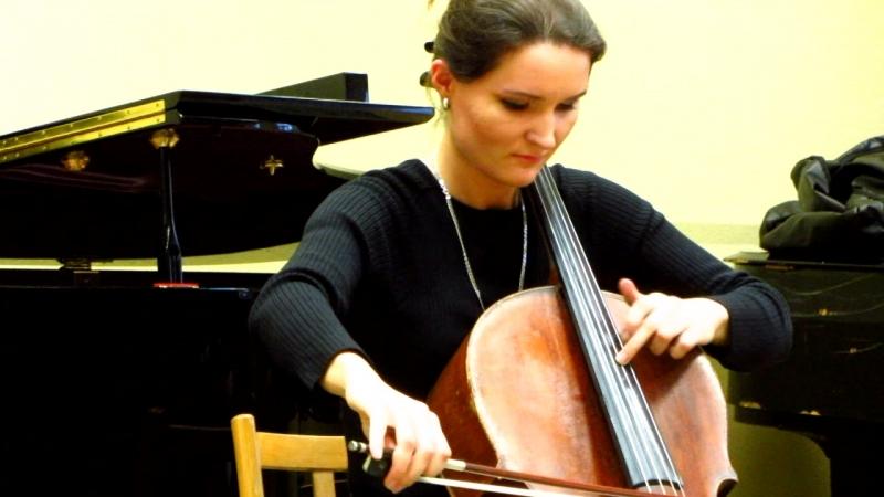 MVI 1607 А Дворжак Концерт для виолончели с оркестром си минор части II III начало см примечание ниже
