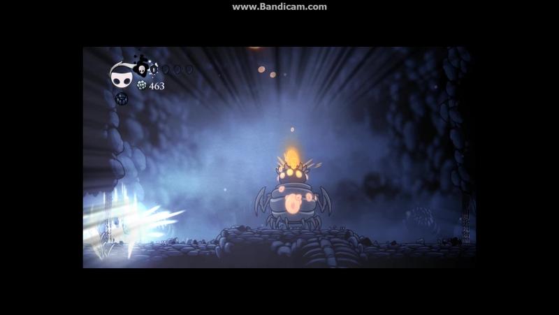 Hollow knight Брюхоног-инкубатор (босс)