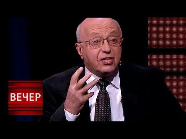 Кургинян о санкциях: Надо закручивать гайки - тогда выстоим! Вечер с Владимиром Соловьевым