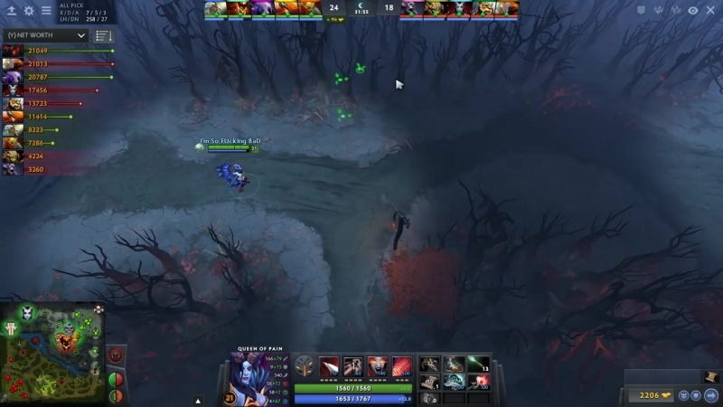 Outhype Darkness Miracle vs Noone Тройной камбэк