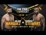UFC FIGHT NIGHT WINNIPEG Julian Marquez vs Darren Stewart