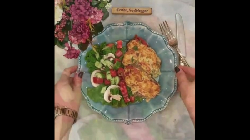Для любителей! Мясо в фольге с грибами и помидорами! 🍖🔥