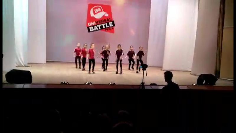 Universal Battle 2018💥🏆 ⚡команда Neon- 1 место