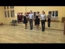 Схема танца Русская кадриль.