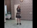 Моя сестренка Варвара Михеева поет песню для папы на золотой юбилей👍