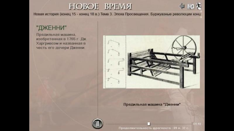 Технические изобретения Промышленного переворота (рус.) Новая история