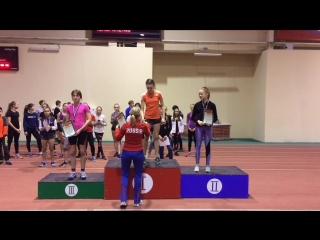 Туешева Диляра - прыжки в длину. Первенство Ульяновской области по легкой атлетике
