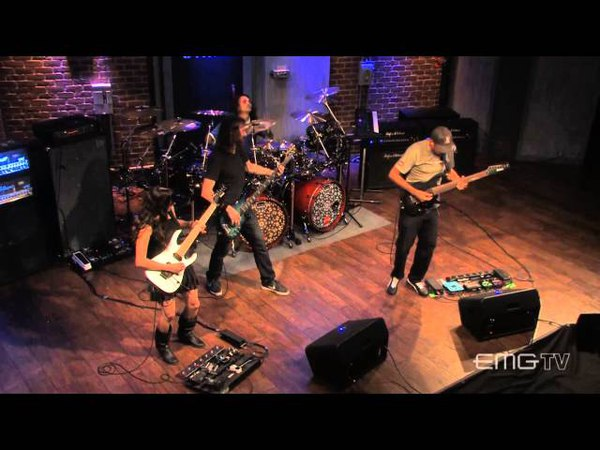 Tony MacAlpine and band performs Sierra Morena live on EMGtv