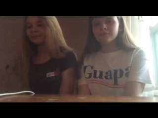 Serebro-Между нами любовь(cover Golynova&Elizavetk)