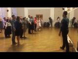 Репетиция участников V Юбилейного Офицерского Бала