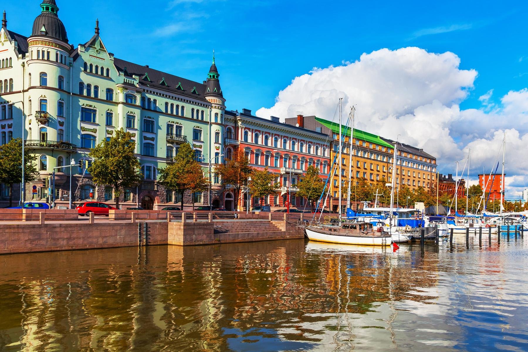 Центр города Хельсинки