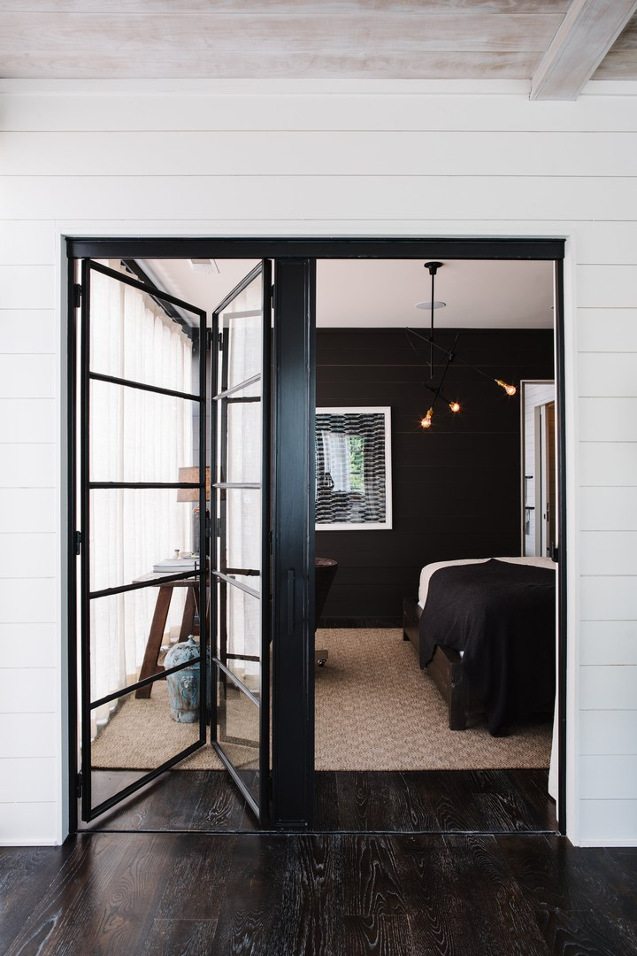 Двухуровневая квартира в мягком индустриальном стиле в США #Жильедизайнквартир