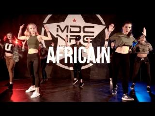 Africain / ksusha kalacheva choreography