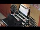670 J S Bach Chorale prelude Christe aller Welt Trost BWV 670 a 2 Clav e Pedale Daniel Bruun