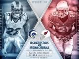 NFL 2017-2018 | Regular season | Week 13 | Los Angeles Rams vs Arizona Cardinals | (ENG)