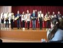 Ансамбль певцов и гитаристов на концерте в честь Дня защитников Отечества