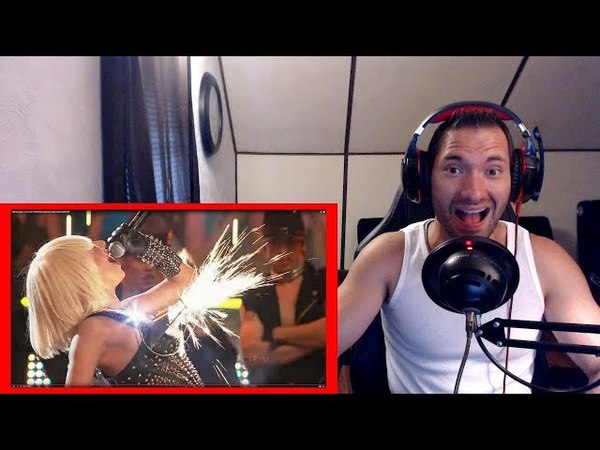 Lady GaGa Love Game Poker Face Live @ Much Music Awards 2009 REACTION