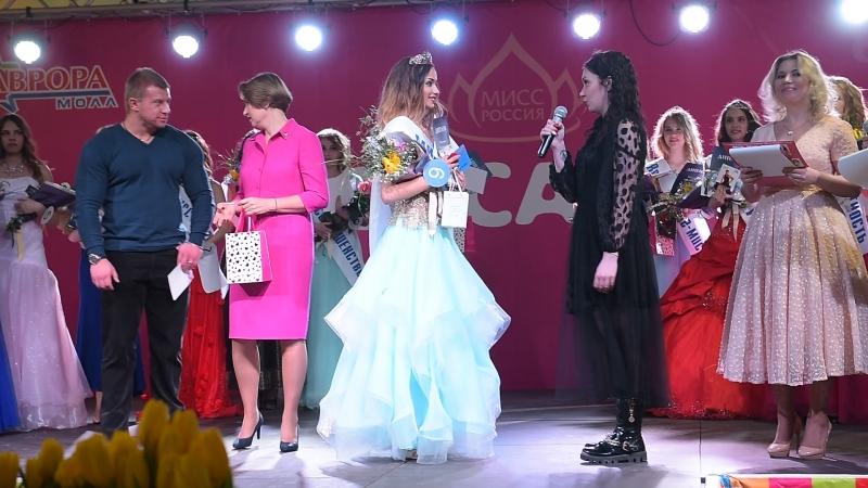Вручение Сертификатов на обучение в Школе Маленькие женщины участницам конкурса Мисс Самара 2018