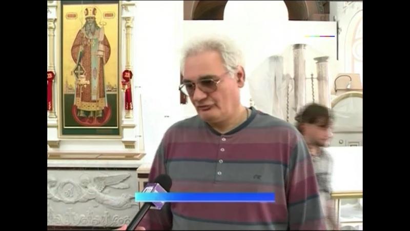 Реставраторы восстанавливают живопись, резьбу и позолоту в Казанском монастыре