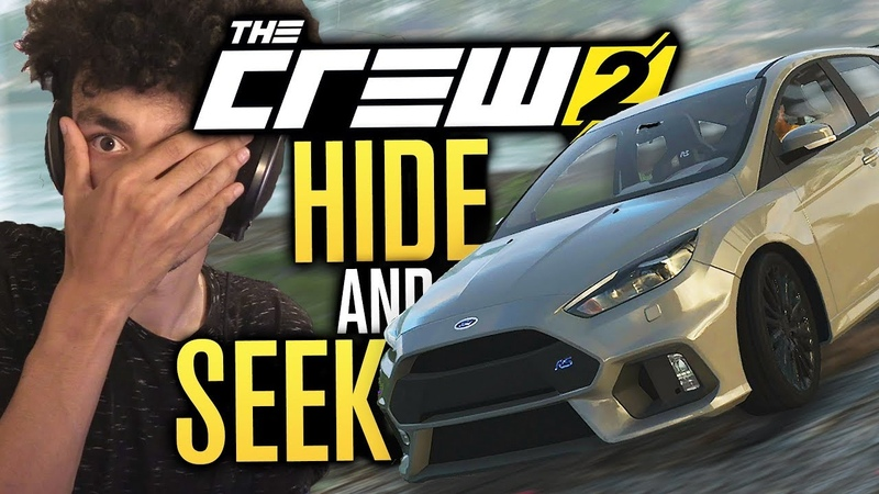 THE CREW 2 HiDE AND SEEK ....